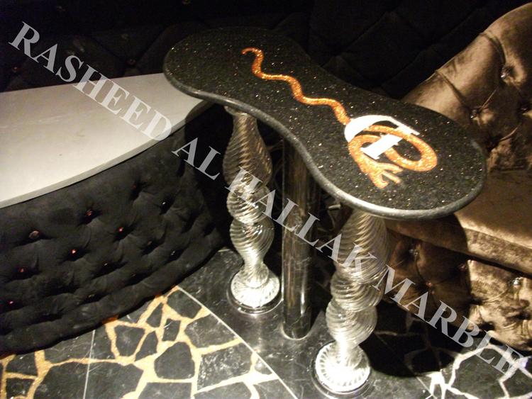 DIABLO NIGHT CLUB DUBAI AT IBN BATUTA HOTEL CRYSTAL GLASS BALUASTRADE FOR VIP AREA