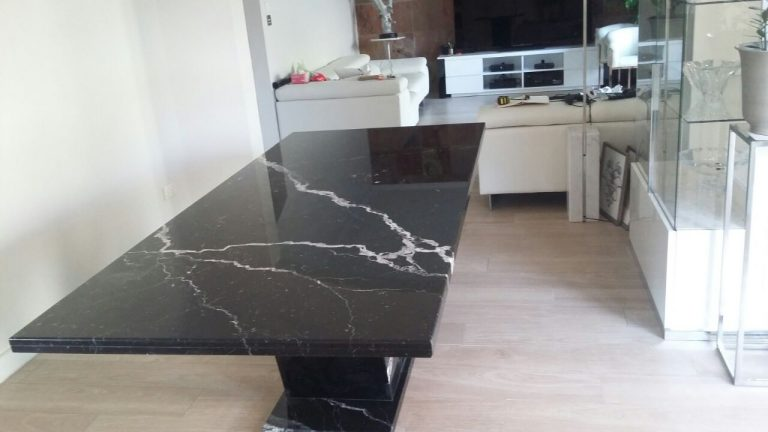 Black Marquina Marble Table