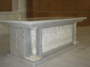 Carrara Marble works- ST. JOSEPH'S Church- Abu Dhabi