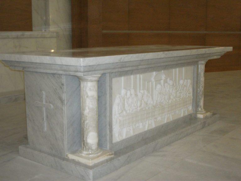 Carrara Marble works- ST. JOSEPH'S Church- Abu Dhabi
