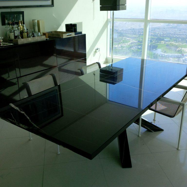 Saint Laurent Marble Table