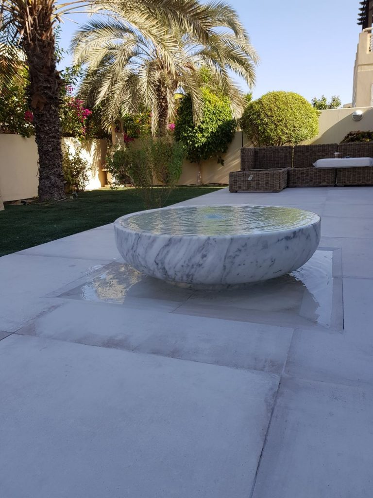 Statuario Carrara Marble Bowle/Fountain