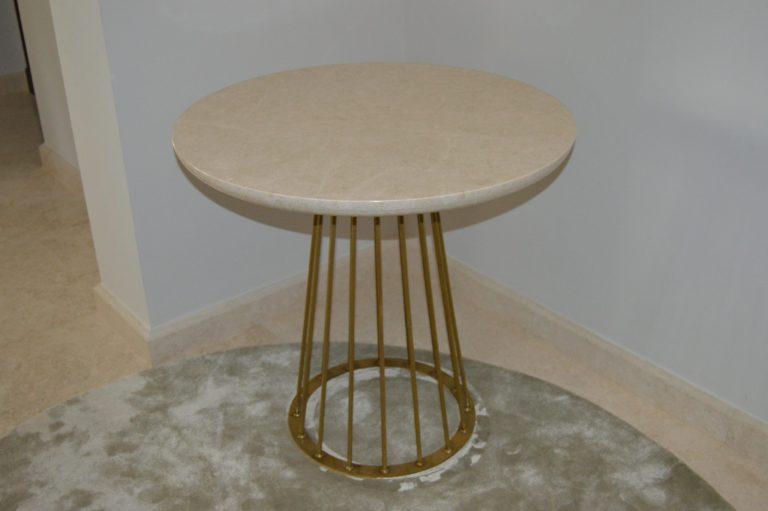 Omani Beige Marble Table Top
