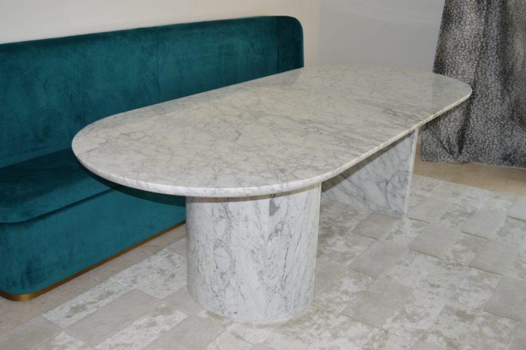 Statuario Carrara Marble Table