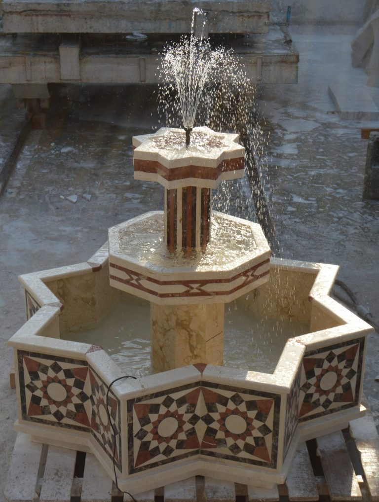 Water Jet Design Fountain production by RHM – Design by RK Gulf