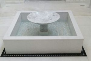 Carrara Marble Fountain