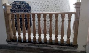 Yellow Sunset Marble Balustrades